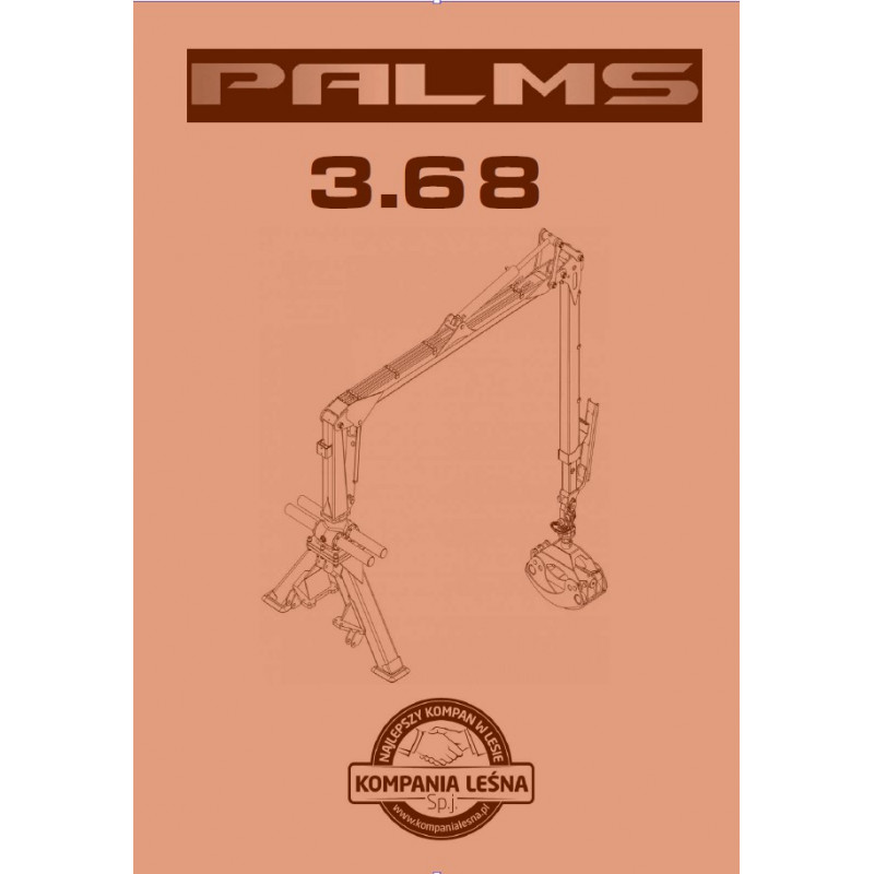 Zestaw do zrywki drewna Palms 12D+5,72